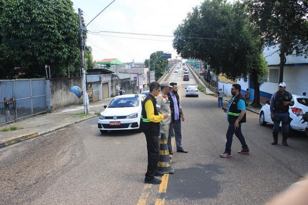 Prefeitura monta plano alternativo de trânsito e transporte para ponte do Educandos