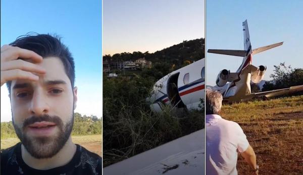 Após grave acidente de avião, DJ Alok aparece transtornado, fala que nasceu de novo e agradece a Deus
