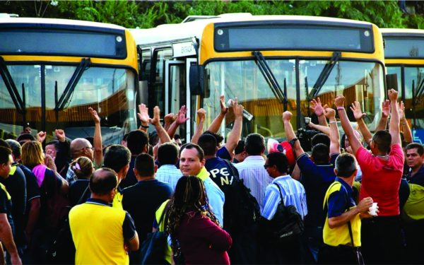Justiça determina suspensão da greve dos rodoviários prevista para quarta