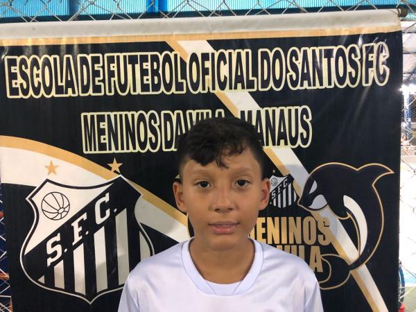 Revelado no Santos Manaus, Nobu é aprovado no Jabaquara para o Campeonato Paulista Sub-13