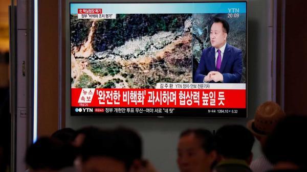 Coreia do Norte destrói centro de testes nucleares e cumpre promessa de acordo de paz