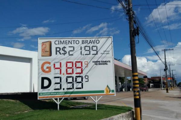 Posto de combustível é autuado por prática abusiva de preço na zona Sul de Manaus