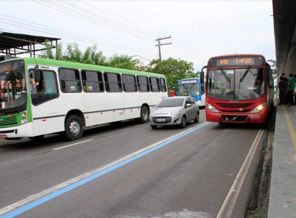 Sinetram garante 100% da frota de ônibus em Manaus nesta segunda