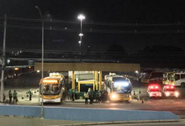 Manaus amanhece com apenas 30% da frota de ônibus nas ruas