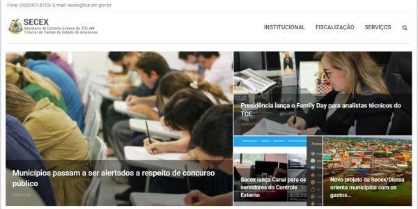 TCE-AM lança novas ferramentas de comunicação no portal e intranet
