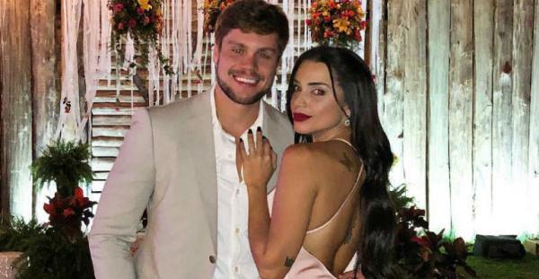 Paula Amorim e Breno Simões vão se casar em arraial