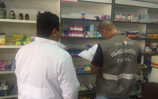 Visa interdita farmácia por funcionamento irregular na zona Leste