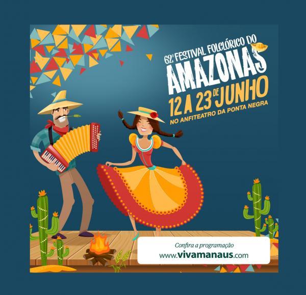 62ª Festival Folclórico do Amazonas: venha se divertir com a nossa tradição popular