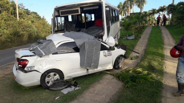 Grave acidente mata três membros da mesma família na AM-010