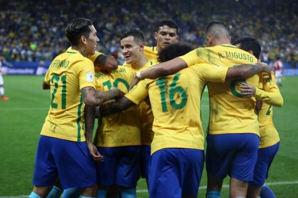 Fifa coloca Brasil entre os favoritos ao título na Copa na Rússia