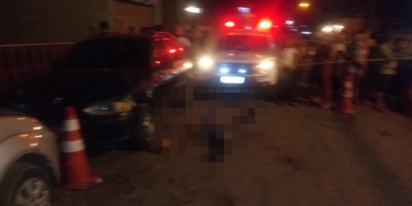 Homem é executado com tiros no rosto e peito no Braga Mendes