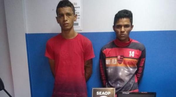 Dupla armada que fazia arrastões pela cidade é presa pela Seaop no bairro São José