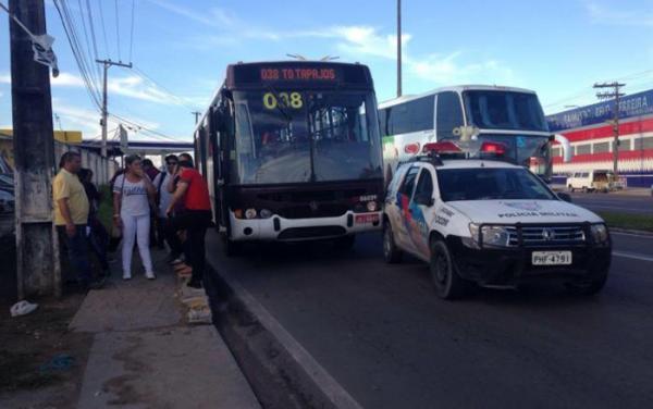 Passageiros vítimas de assaltos a ônibus passa de 1.400  este ano em Manaus