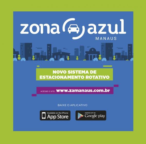 Zona Azul: Praticidade e modernidade para estacionar no Centro Histórico de Manaus