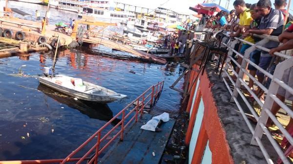 Corpo de homem é encontrado boiando as margens do Porto de Manaus