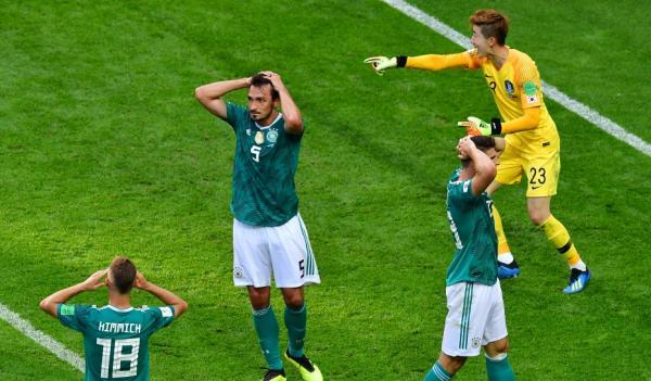 Em vexame histórico, Alemanha é eliminada da Copa pela Coreia do Sul