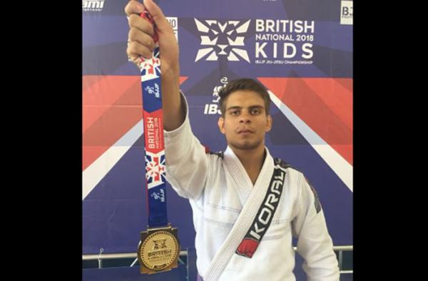 Amazonense fatura ouro em competição internacional de jiu-jitsu realizada em Londres
