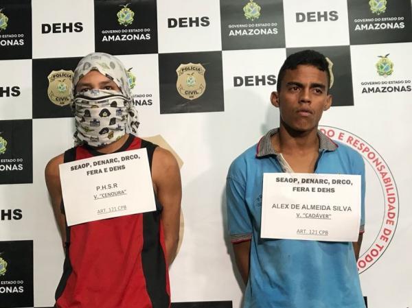 Dupla é presa por decapitar 'amigo' no bairro Parque Dez
