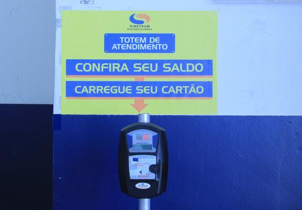 População pode consultar saldo dos cartões Passafácil em totens instalados nos Terminais