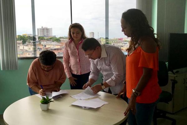 Prefeitura firma parceria com Ifam para construção de nova unidade integrada de educação