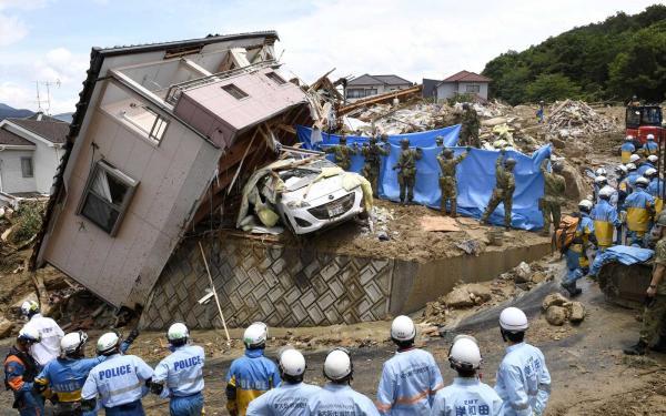 Fortes chuvas deixam 100 mortos e 68 desaparecidos no Japão