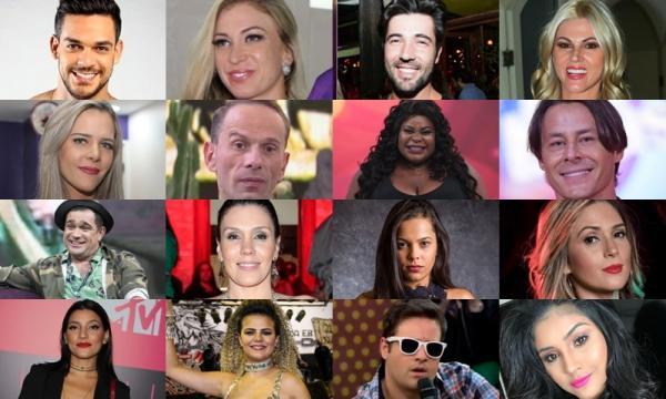 Conheça os famosos que estão cotados para participar da nova temporada de 'A Fazenda'
