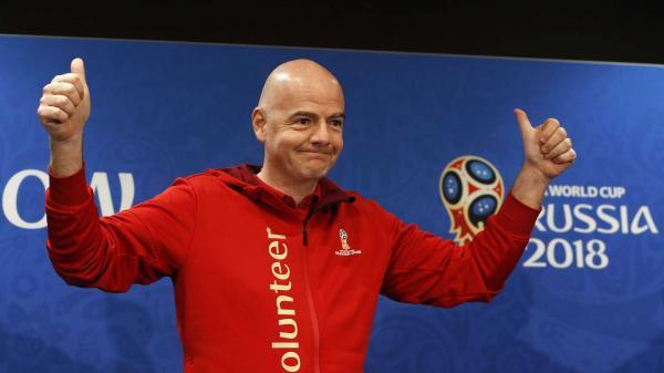 Copa de 2022 pode ter 48 seleções, diz Fifa