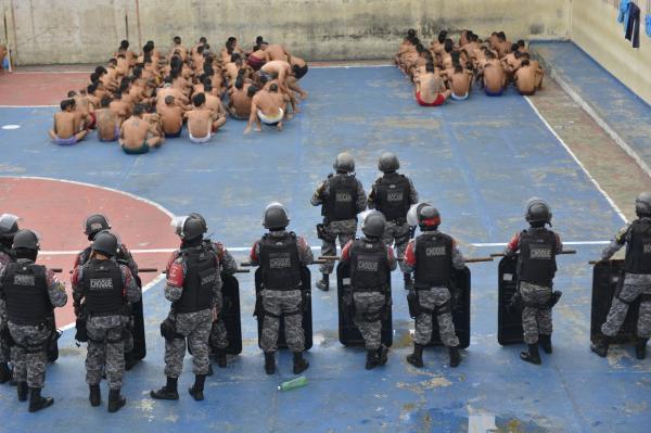 Sistema penitenciário passa por operação de revista e fiscalização nas unidades prisionais