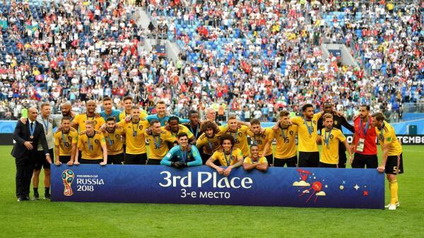 Bélgica derrota a Inglaterra e conquista o 3º lugar da Copa do Mundo