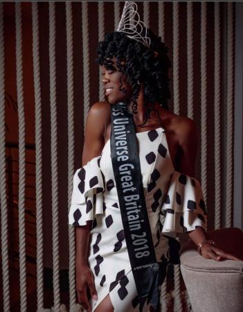 Reino Unido elege pela 1ª vez uma miss negra