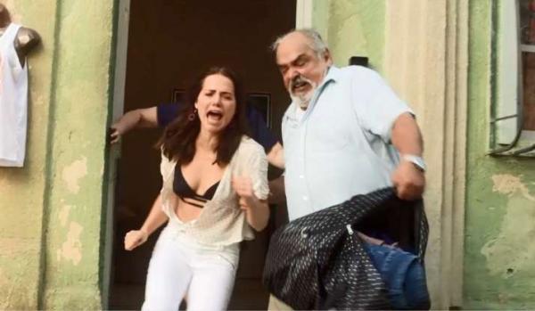 Segundo Sol: Agenor expulsa Rosa de casa e a humilha na rua