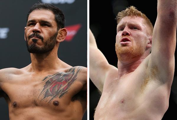 Ultimate encaminha retorno de Rogério Minotouro contra Sam Alvey no UFC