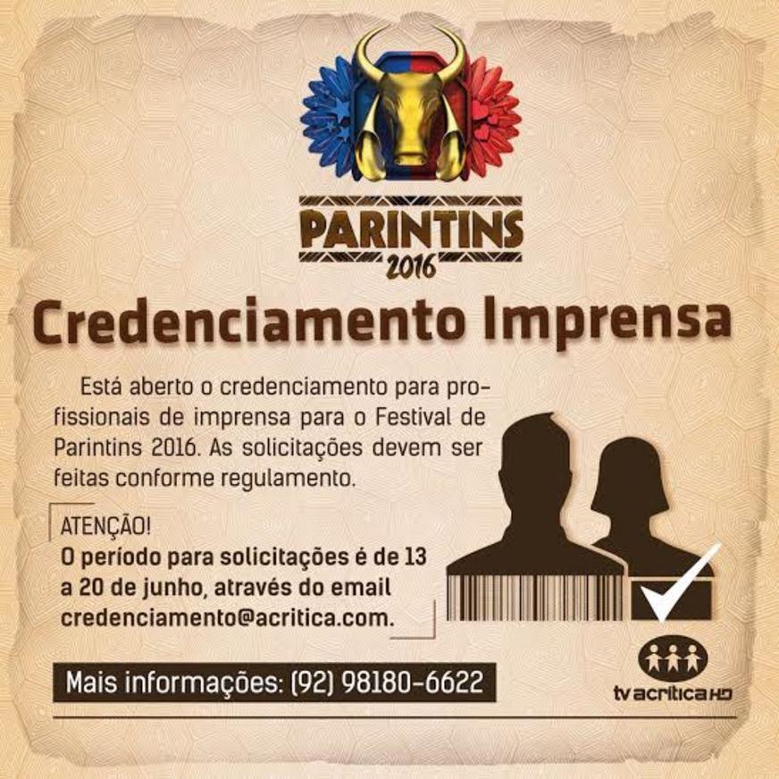 A Crítica abre credenciamento para imprensa no Festival Folclórico de Parintins
