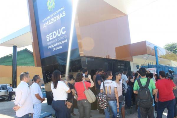 Seduc define nova data para reaplicação das provas do concurso público para o cargo específico de professor do ciclo para 20h, Manaus