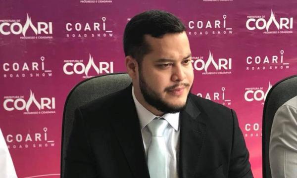 Prefeito de Coari vai reduzir gastos com aniversário da cidade
