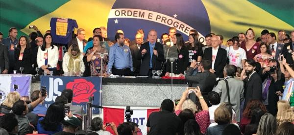 PDT confirma Ciro Gomes para disputa da Presidência