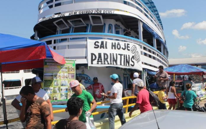 Prazo para vistoria de barcos que vão a Parintins é prorrogado pela Marinha até o dia 17 de junho