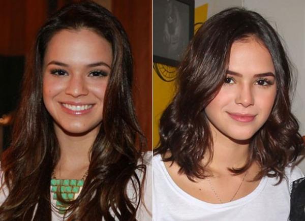Bruna Marquezine comenta plástica no nariz: ''FICOU 'MARA' MESMO''
