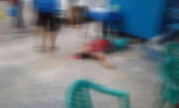 CENAS FORTES: Homem é morto a tiros enquanto tomava café em banca no bairro Educandos