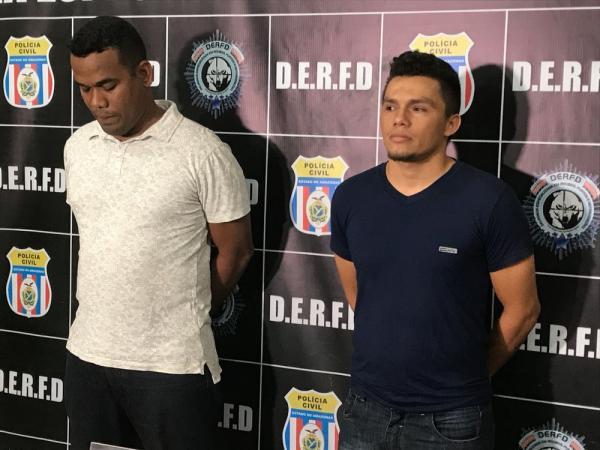 Dois são presos suspeitos de furtar 191 TVs de empresa do Distrito Industrial de Manaus