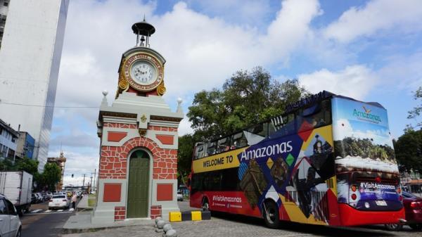 Turismo sob rodas: City Tour AmazonBus ganha mais um dia de passeio por Manaus