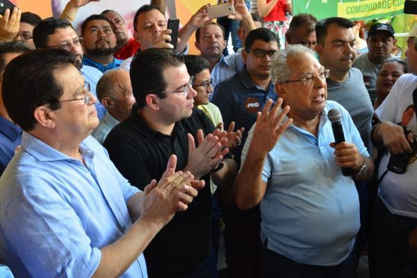 Amazonino recebe apoio do PHS, partido do presidente da Câmara de Manaus, Wilker Barreto