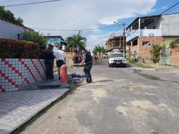 Homem é executado com cinco tiros em Manaus