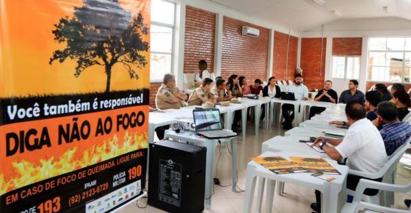 Sema reativa GT das Queimadas para combater incêndios florestais no Estado