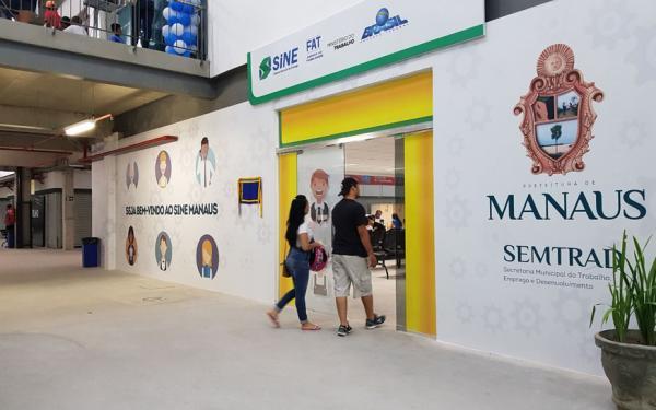 Postos do Sine Manaus selecionam para 26 vagas de emprego nesta sexta-feira (10)
