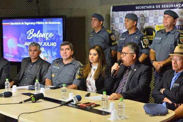 Com nova redução em julho, homicídios em Manaus acumulam queda de 11% no ano