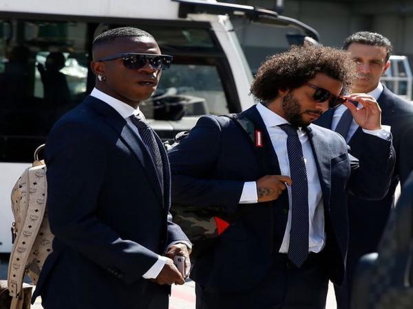 Com Vinicius Junior, Marcelo e Courtois, Real chega à Estônia para Supercopa