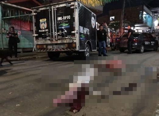Ex-presidiário é assassinado com 12 tiros de pistolas e escopeta em Manaus- AM