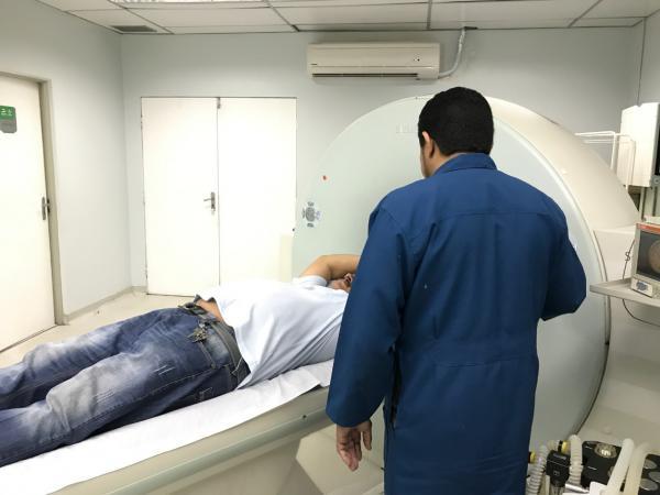 Susam recebe técnicos para manutenção dos tomógrafos do João Lúcio e 28 de Agosto