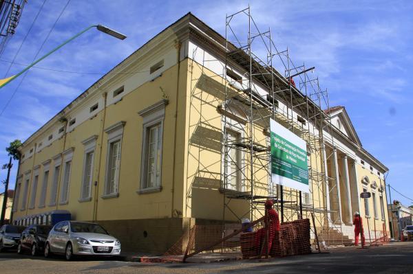 Paço da Liberdade inicia obras de instalação de novo projeto museográfico